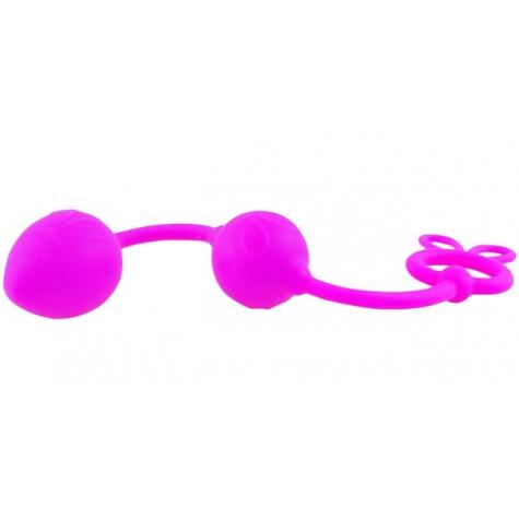 Анальные шарики Balls из силикона - 22,5 см.
