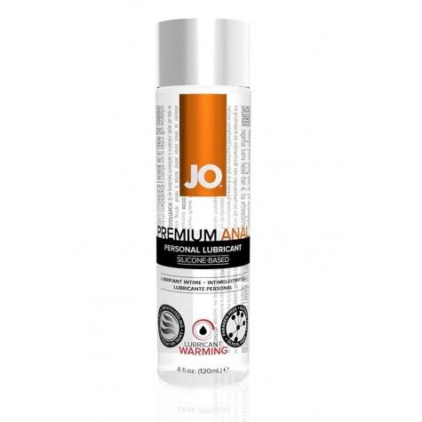 Анальный согревающий лубрикант на силиконовой основе JO Anal Premium Warming - 120 мл.