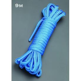 Голубая веревка для связывания - 9 м.