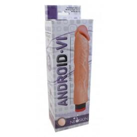 Вибратор-реалистик без мошонки ANDROID Collection-VI - 23,2 см.