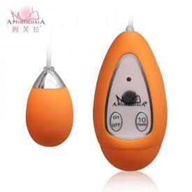 Оранжевое виброяичко Xtreme 10F Egg